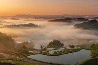 星峠の夜明け - デジタルで見ていた風景