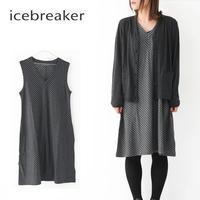 ICE BREAKER [アイスブレーカー] W ELOWEN SLEEVELESS DRESS [ITW22081] イロウェン スリーブレスドレス・ワンピース・LADY'S - refalt blog