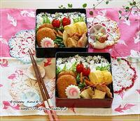 冷凍コロッケ弁当とおうちごはん、土鍋で炊き込みご飯♪ - ☆Happy time☆