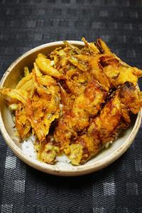 ウチで食べようごま油で天ぷら作って - ちゅらかじとがちまやぁ