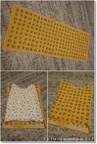 【100均】手拭いで1歳児めっちゃ簡単な服(パジャマ)作り♪とカカに聞いてんの! - 素敵な日々ログ+ la vie quotidienne +