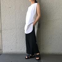 『ATON』 ROUND HEM TANK ! - 山梨県・甲府市 ファッションセレクトショップ OBLIGE womens【オブリージュ】