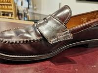 【諦めないと案外いける】オールデン裂け補修 - Shoe Care & Shoe Order 「FANS.浅草本店」M.Mowbray Shop