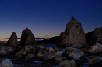 夜明け~橋杭岩 - katsuのヘタッピ風景