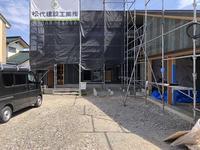 連休が明けて須坂の曲り家の定例が再開 - 安曇野建築日誌