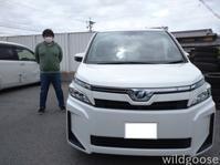 祝☆納車 ZWR80ヴォクシーお買い上げありがとうございます(☆∀☆) - ★豊田市の車屋さん★ワイルドグース日記