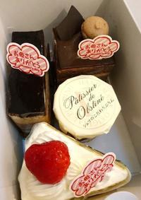チーズケーキとバナナケーキ - Il fait beau ~楽しいこと、時々ぐち~