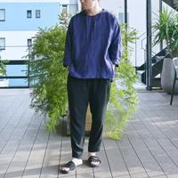 TISSU / フレンチリネンフードシャツパーカー - nuno