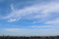 塔状雲(巻雲) - 日々の風景