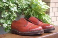 【FLORSHEIM】50's?キャップトウシューズ【専門用語乱立注意】 - Shoe Care & Shoe Order 「FANS.浅草本店」M.Mowbray Shop
