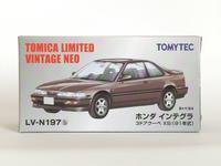 トミーテック・LV-N197b ホンダ インテグラ 3ドアクーペ XSi(黒) - 燃やせないごみ研究所