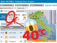 """""""いきなり気温40℃のシチリア""""と、ラツィオ州のビーチほか"""" ~ シロッコ・アフリカ性熱帯高気圧 ~ - 『ROMA』ローマ在住 ベンチヴェンガKasumiROMAの「ふぉとぶろぐ♪ 」"""