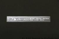 新ハイブリッドブランク:LMX X-Ray NEO(その3) - Go Beyond
