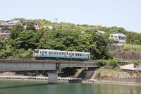普通列車736D鏡川橋梁 - 南風・しまんと・剣山 ちょこっと・・・