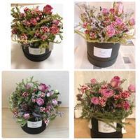 ギフトボックスアレンジ - driedflower arrangement ✦︎ botanical accessory ✦︎ yukonanai ✦︎