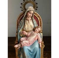 眠る幼子イエスを抱く聖母マリア/G856 - Glicinia 古道具店