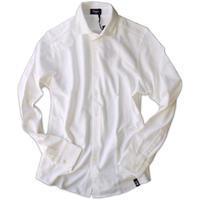 Drumohr ドルモア 鹿の子ジャージ ホワイトシャツ DTS619 - 下町の洋服店 krunchの日記