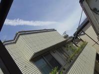 音速「マッハ」で飛ぶ「フランスさまのジェット機」飛行機雲. - 秋葉原・銀座 PHOTO by ari_back