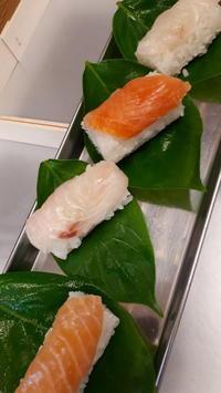 全国へ発送柿の葉寿司 - 懐石椿亭(富山市)公式blog