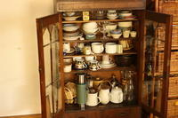 梅雨入り前のお掃除スタート、まずはお気に入りの食器棚から - キラキラのある日々