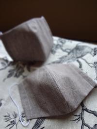 立体マスク - シマトリネコの庭日記