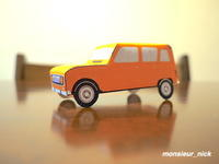 Paper Craft /French Cars (1) - Nick's Favorite things