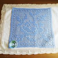 方眼編みドイリー完成!~かぎ針編み通信講座 課題2つめ - Atelier-Gekka ハンドメイドのおはなし
