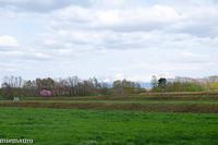桜と田んぼ、そして山並み~5月の就実の丘 - My favorite ~Diary 3~