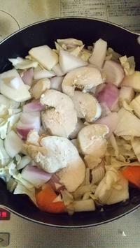 お野菜たっぷりコンソメスープ - hatsugaママのディズニー徒然と日常いろいろ