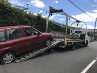 相模原市緑区から故障車をレッカー車で廃車の引き取りしました。 - 引き取りレンジャー