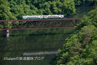 只見線キハ40 2021 - Salamの鉄道趣味ブログ