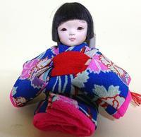 【光環と明咲の展覧会】明咲の3号クタちゃん♪ - 市松人形師~只今修業中