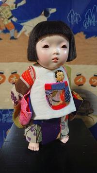 【光環と明咲の展覧会】明咲の5号立っち♪ - 市松人形師~只今修業中