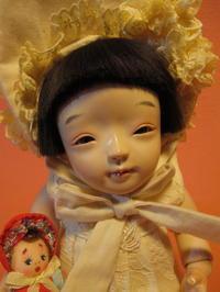 【光環と明咲の展覧会】光環の8号クタちゃん - 市松人形師~只今修業中