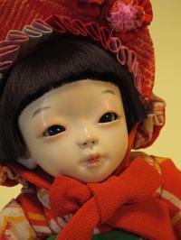 【光環と明咲の展覧会】光環の8号目つむりクタちゃん♪ - 市松人形師~只今修業中