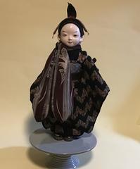 【光環と明咲の展覧会】光環の12号市松さん - 市松人形師~只今修業中