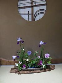 5月の花々、シラー・ペルビアナ、シヤクヤク他 - 活花生活(2)