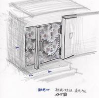 門扉改装 - 金属造形工房のお仕事