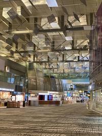 最後のシンガポールチャンギ空港・さびしくてまた涙 - Equatorまであと一歩・シンガポールより