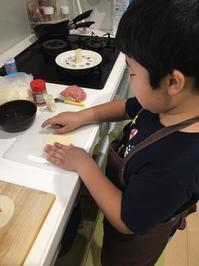 娘と孫の薔薇餃子作りとコン君の予防接種 - 青山ぱせり日記