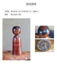 蒐集した陸奥の郷土玩具11系統のこけし - 光さんの日常2