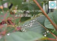 新月より少し前倒しで・・WEB SHOP更新します - Sola*Tsuchi  花とアクセサリー
