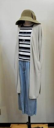 肌寒いときにサッと羽織れるロングカーディガン♪ - Bashamichi's Blog