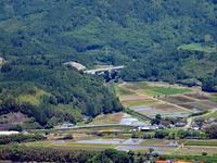 伐株山から俯瞰する(2010年5月) - ポン太の写真帳別館
