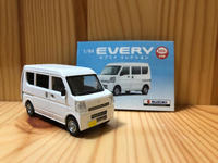 【ガチャミニカー】エブリーDA17V。 - FIAT500S in 琉三ガレージ