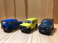 【ガチャミニカー】JB64ジムニー。 - FIAT500S in 琉三ガレージ