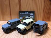 【ガチャミニカー】JB 74ジムニーシエラ - FIAT500S in 琉三ガレージ