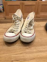 【実験】CONVERSEソールカラー変更 - Shoe Care & Shoe Order 「FANS.浅草本店」M.Mowbray Shop