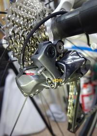 シマノDi2RDストッパーボルト&エンドアジャスターボルトは適正な位置まで!ロードバイクPROKU -   ロードバイクPROKU