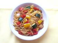 <イギリス料理・レシピ> 夏野菜のスパゲッティ【Summer Vegetable Spaghetti】 - イギリスの食、イギリスの料理&菓子